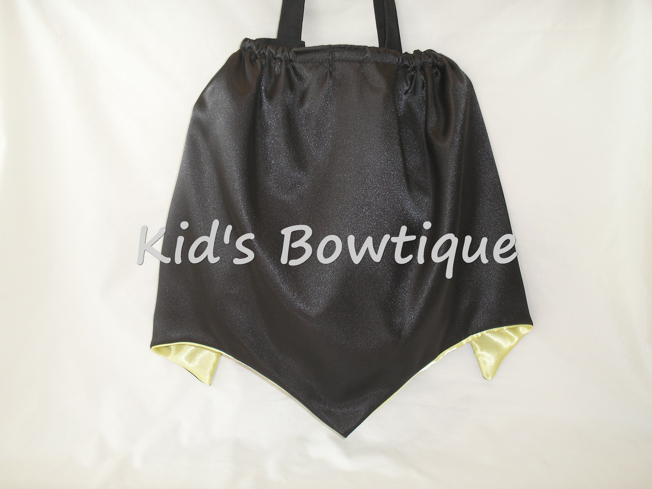 Batman with Cape Tote Bag Back Side