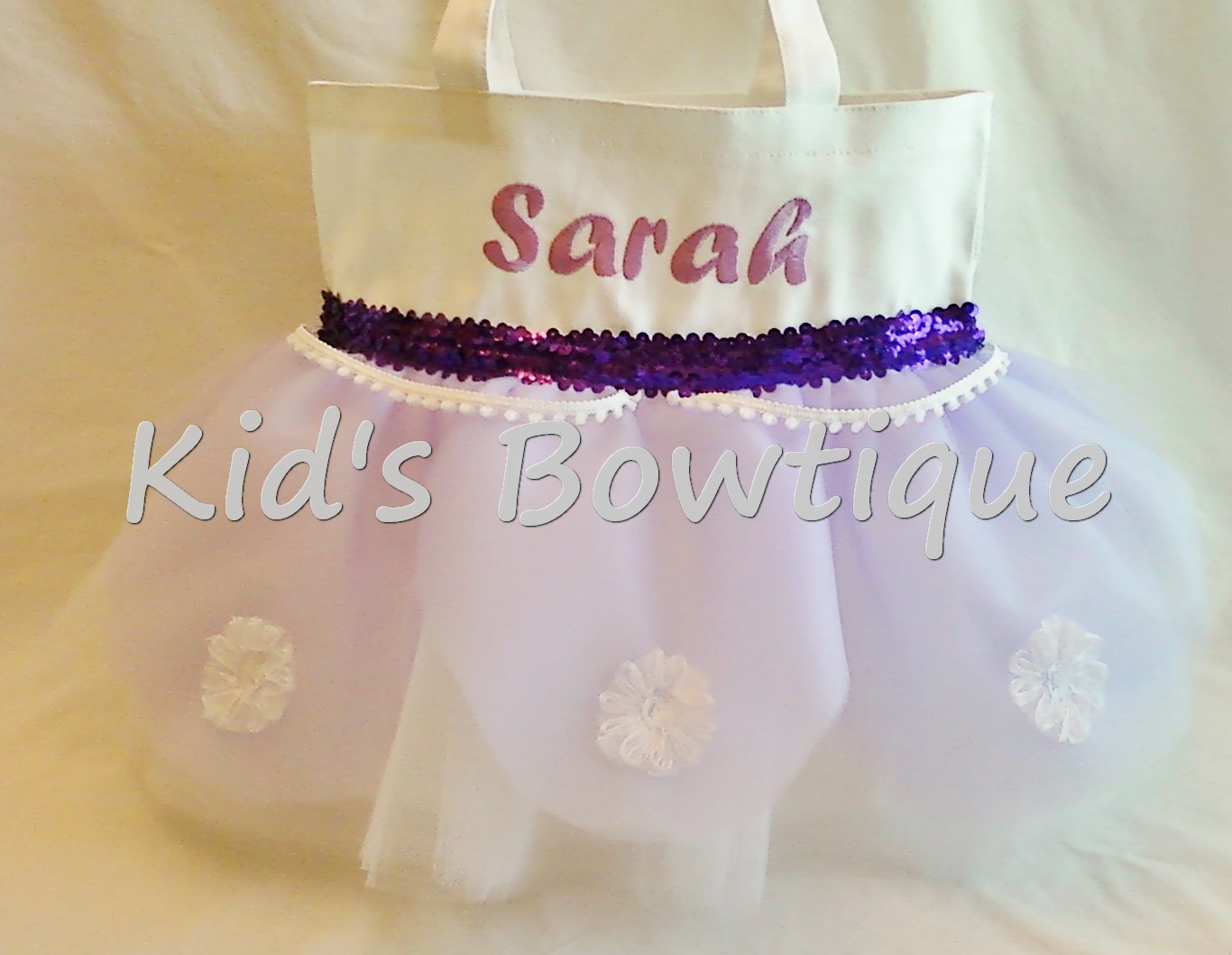 Disney Sofia the First Tutu Tote Bag