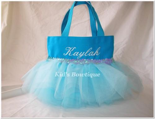 disney princess cinderella inspired monogrammed tutu bag