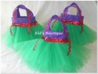 Princess Ariel Little Mermaid Inspired Party Favor Tutu Bag