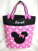 Mouse Themed Monogrammed Bag - Item TBMouse