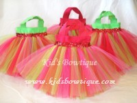 Party Favor Tutu Bags -pftb24 Strawberry Fields