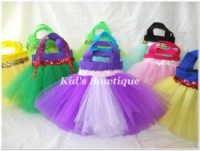 Princess Rapunzel Inspired Party Favor Tutu Bag