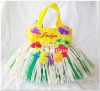 Monogrammed Tutu Tote Bag - ttb22 Luau Skirt