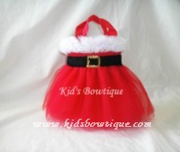 Seasoanl Party Favor Tutu Bags - Item pftb29 Christmas Mrs.Claus Bags