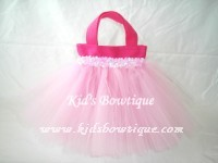 Party Favor Tutu Bags -pftb21 I love Pink Bags