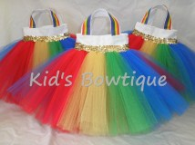 Party Favor Tutu Bags -pftb15 Rainbow Pot of Gold