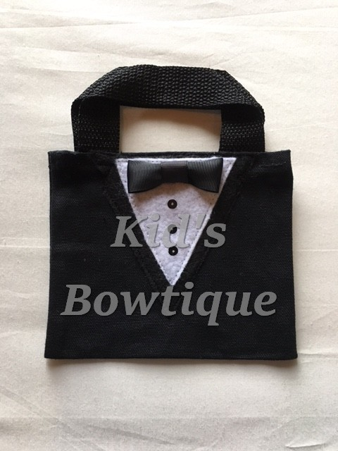 Tuxedo Party Favor Bags